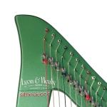 33-струнная леверсная электроарфа Lyon & Healy Silhouette