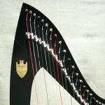 36-струнная леверсная арфа Lyon & Healy Troubadour VI
