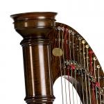 40-струнная леверсная арфа Lyon & Healy Prelude