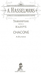 Durand / Alphonse Hasselmans - Chaconne for Harp Solo