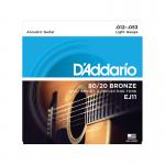 EJ11 BRONZE 80/20 D'Addario