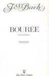 J.S. Bach / Carlos Salzedo - Bouree From Partita I for Harp Solo