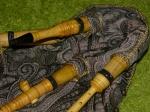 Испанская волынка (гайта гальега), с 2 бурдонами (бас + тенор)
