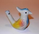 Свистулька водяная - Птичка, керамика, Вьетнам