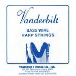 Струны с обмоткой Vanderbilt для педальной арфы, 7 октава
