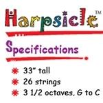 Дополнительный комплект струн для арф Harpsicle®