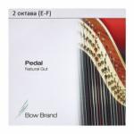 Струна Фа (F) 2-й октавы Bow Brand, жила, для педальной арфы
