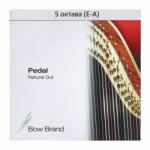 Струна Си (B) 5-й октавы Bow Brand, жила, для педальной арфы