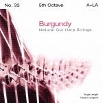 Струна Ми (E) 5-й октавы BURGUNDY, для леверсной арфы